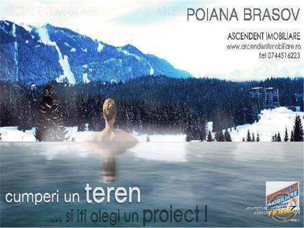 Oportunitate Teren pentru constructi, Poiana Brasov