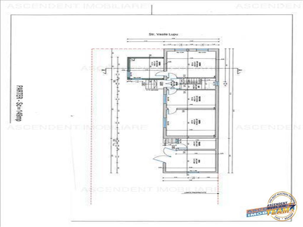 OFERTA TRANZACTIONATA !!  Casa +proiect+materiale constructie,600 mp teren, Central
