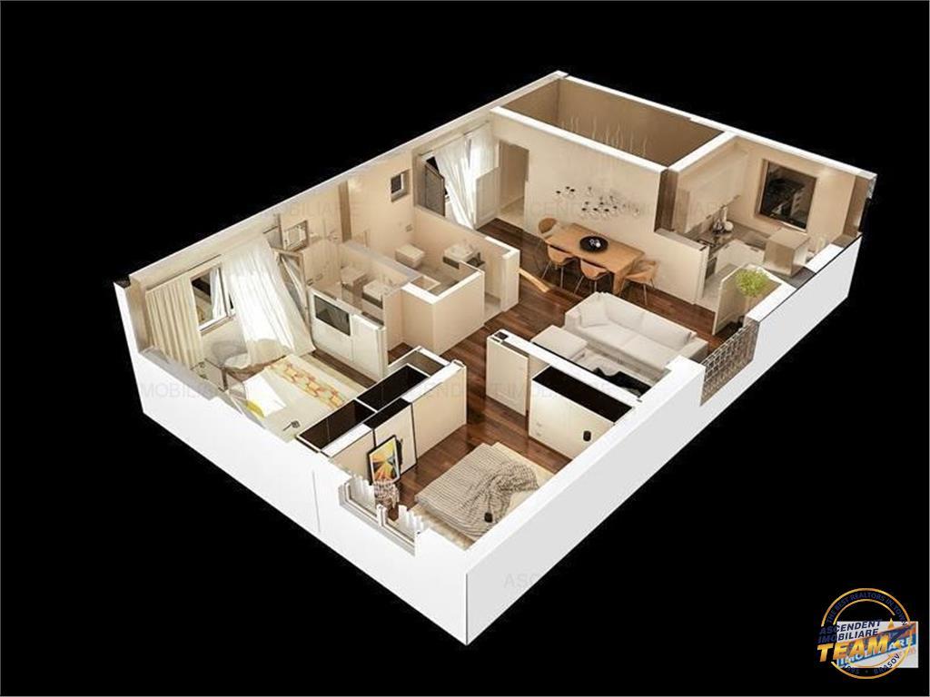 OFERTA TRANZACTIONATA!!!SPECIAL!  Apartament 3 camere in vila, la cheie