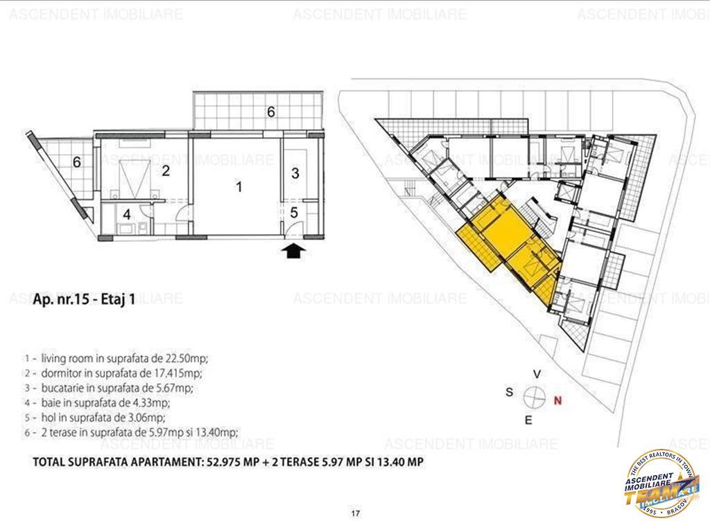 OFERTA TRANZACTIONATA  !!!   Apartament 2 camere, in vila, sectiunea SEMILUX, Central