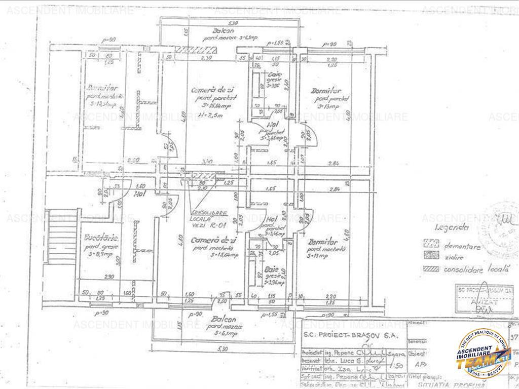 Imobil 4 camere, segmentul Unicat, 102 mp utili, Astra, Brasov