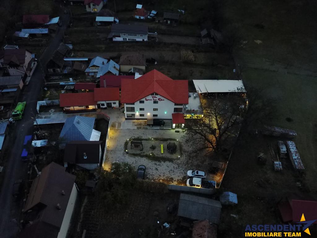 Afacere la cheie in zona Transalpina  1700 mp teren PENSIUNEA LUNCA LUI DAN