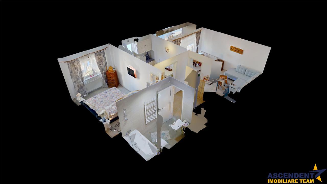 OFERTA TRANZACTIONATA!! EXPLOREAZA VIRTUAL!  Elegant apartament, pe doua camere, terasa, cartier rezidential Coresi