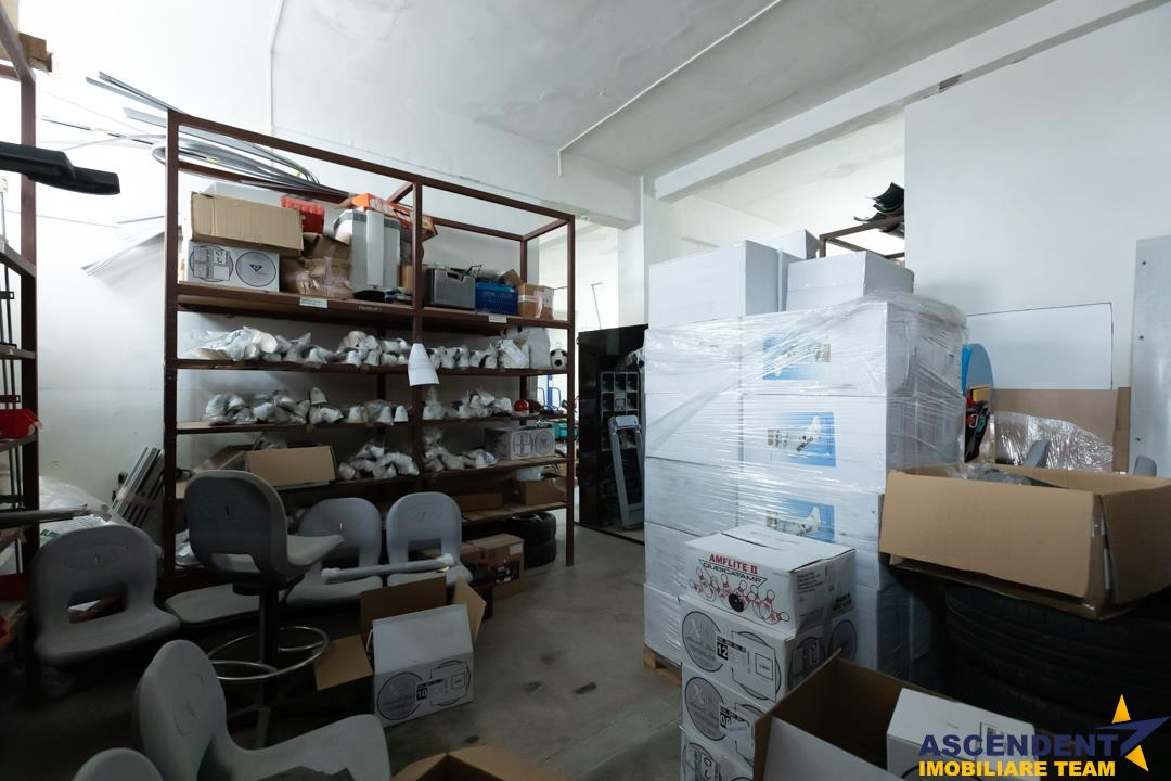 Spatiu industrial, pe340 mp, situat pe strada Carierei, zona Eliana Mall