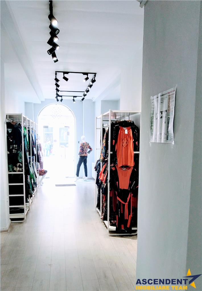 OFERTA REZERVATA!!Spatiu comercial, vitrinat, 200mp, Centrul Istoric, Brasov