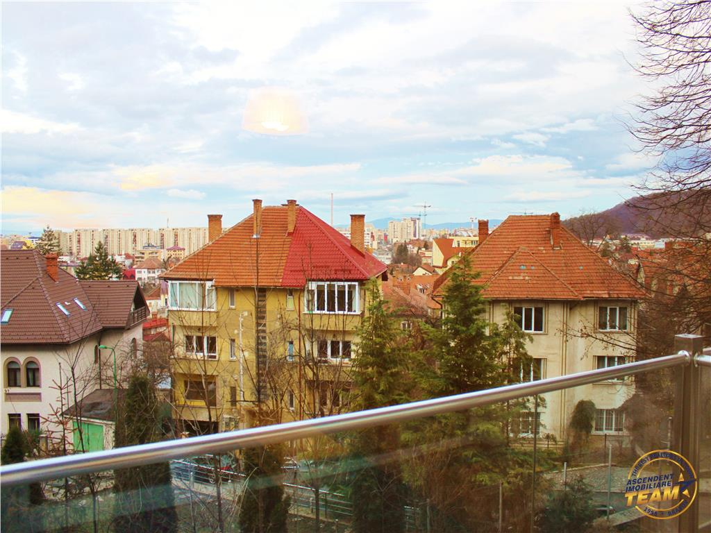 Clasa LUX, in vila, constructie noua, cu terasa, Ultracentral, Brasov