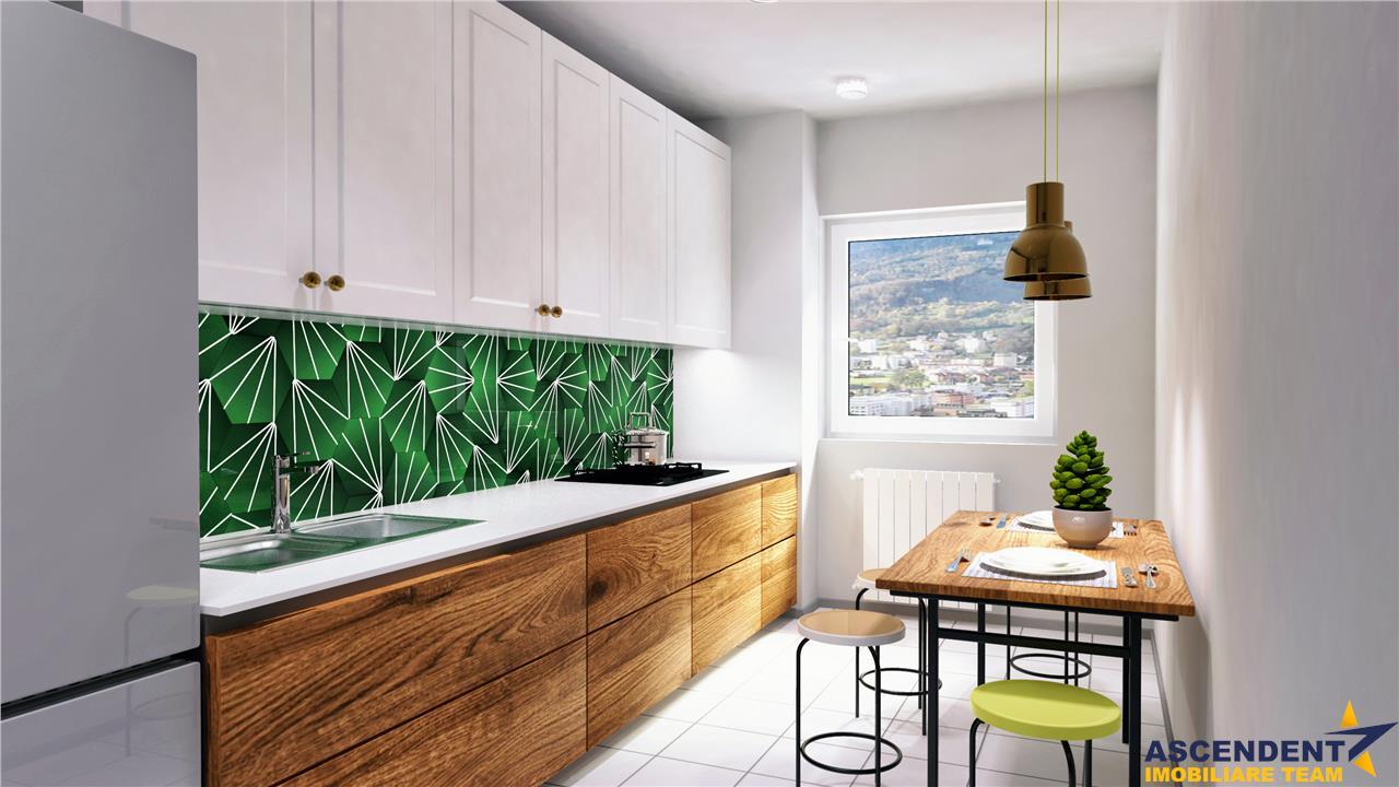 Apartament nou, compozitie aleasa, in decomandata prezentare, Zona Coresi