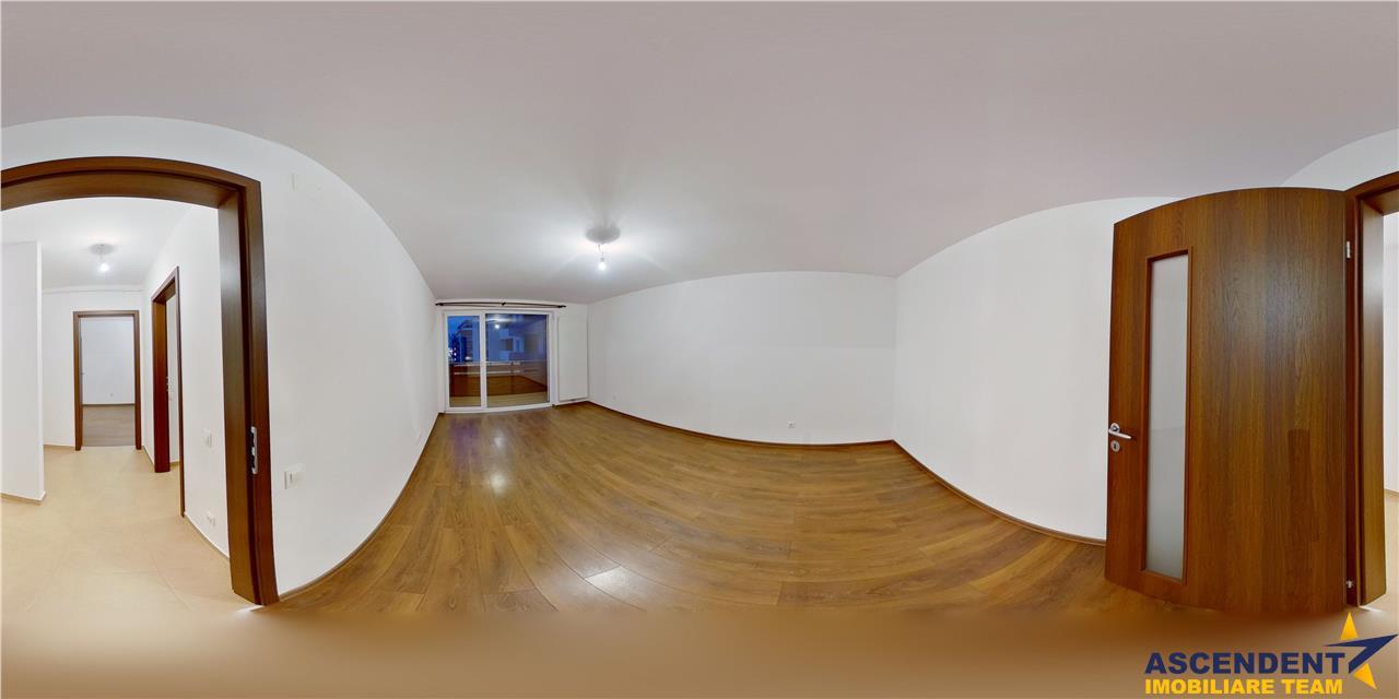 EXPLOREAZA VIRTUAL! Resedinta pe 86 mp, doua terase, decomandat ariata