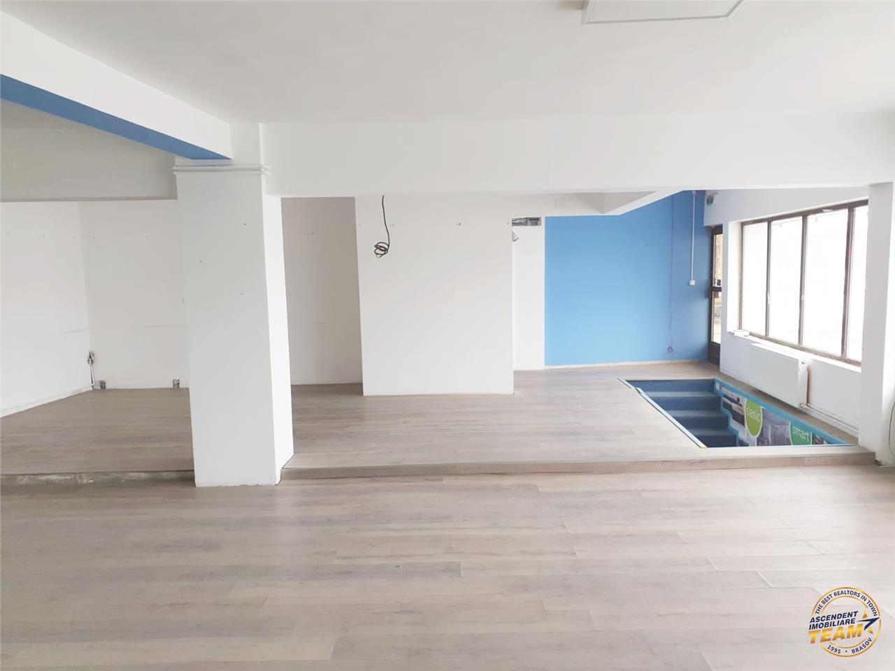 OFERTA TRANZACTIONATA!! Oportunitate! Spatiu vitrinat, pe doua nivele, ariat pe 250 mp, in Noul Centru, Brasov