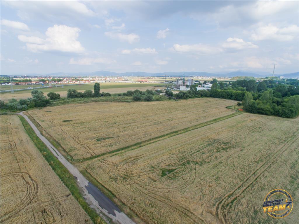 4.600 mp teren intravilan, Tractorul, Brasov si inca 7 ha pentru dezvoltatori in aceeasi zona