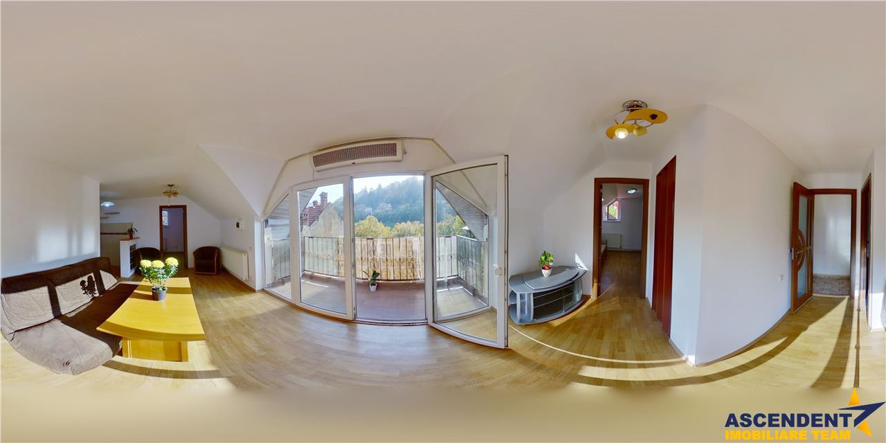 EXPLOREAZA VIRTUAL! Doua nivele, spectaculos view, armonizate de terase, Calea Poienii, Brasov
