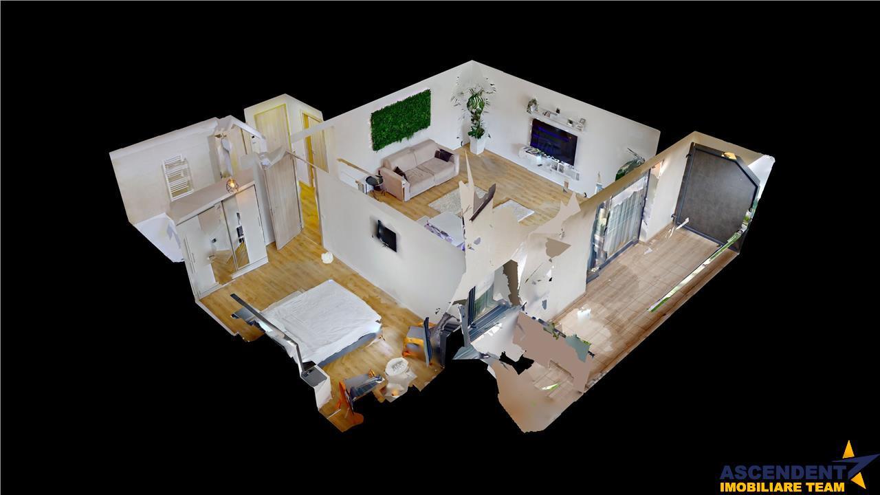 EXPLOREAZA 3D! Resedinta Protocol/ Cabinet/ Birou, pe gradina proprie