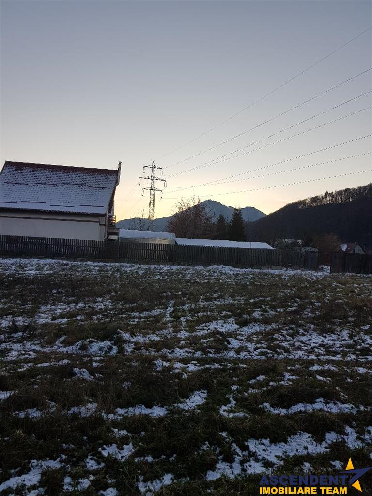 FILM! In taramul Dacic, Bunloc, 1.500 mp teren intravilan,  in spectacol panoramic