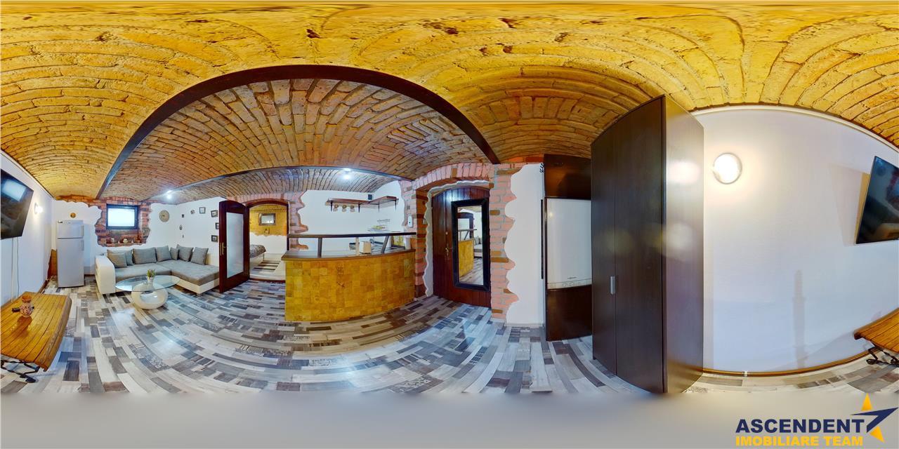 OFERTA TRANZACTIONATA!! EXPLOREAZA VIRTUAL! Ghirlanda, in vila interbelica, pe bolta traditionala, Central, Brasov