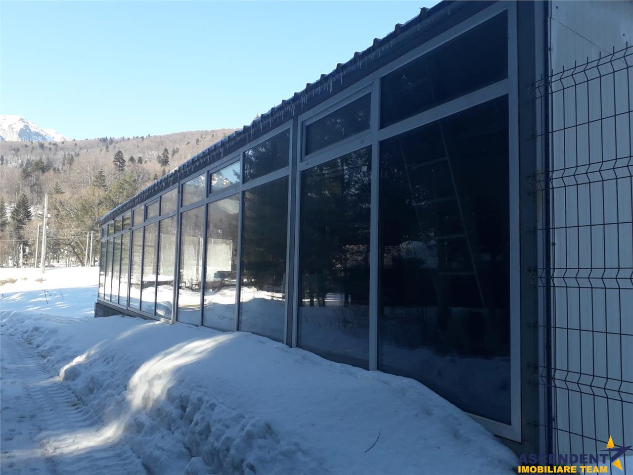Spalatorie auto cu 5 posturi si 2550 mp teren CURTI CONSTRUCTII DN1, langa Lukoil, Azuga