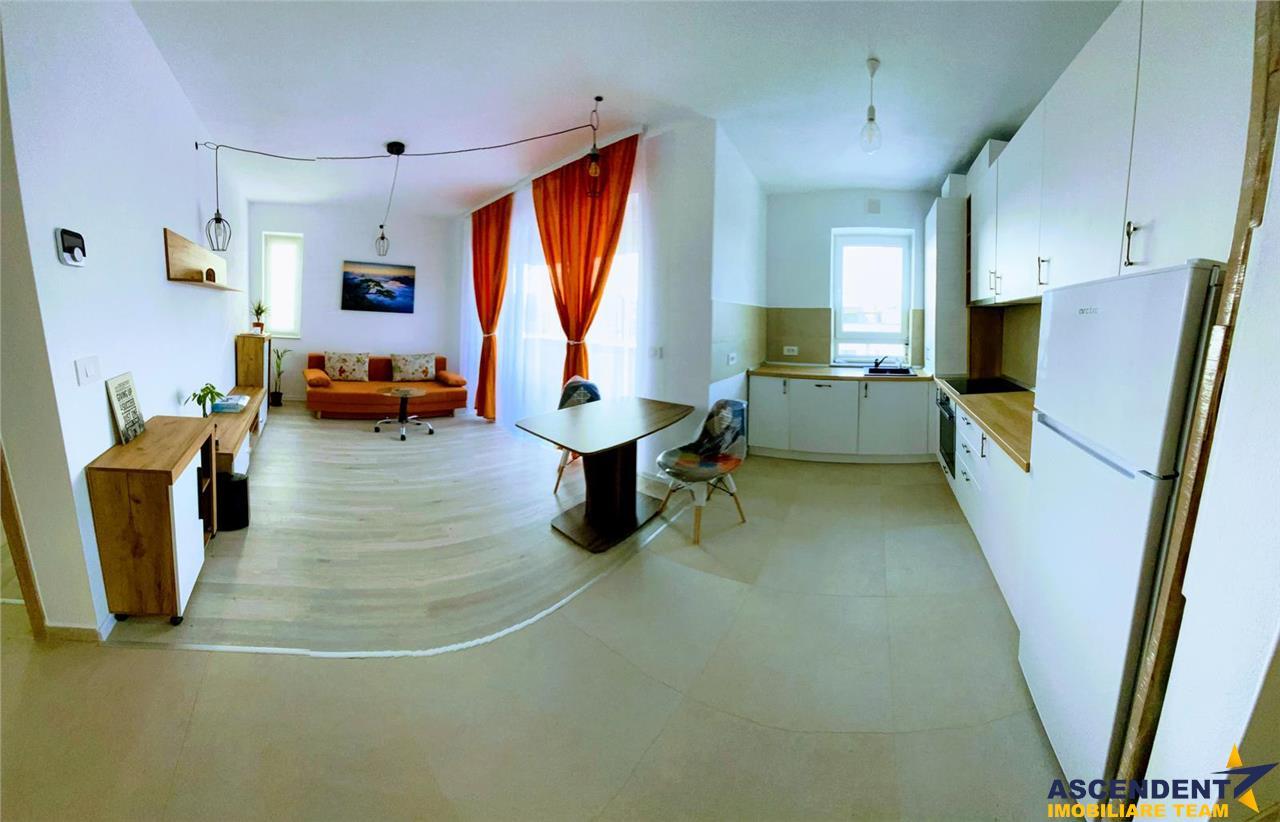 OFERTA REZERVATA!! OPORTUNITATE, Apartament open space, vedere superba, aflat la prima inchiriere, Ansamblul Coresi