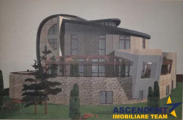 OFERTA REZERVATA!!Penthouse,120 mp utili, 50 mp terasa + balcoane, in vila cu arhitectura unica
