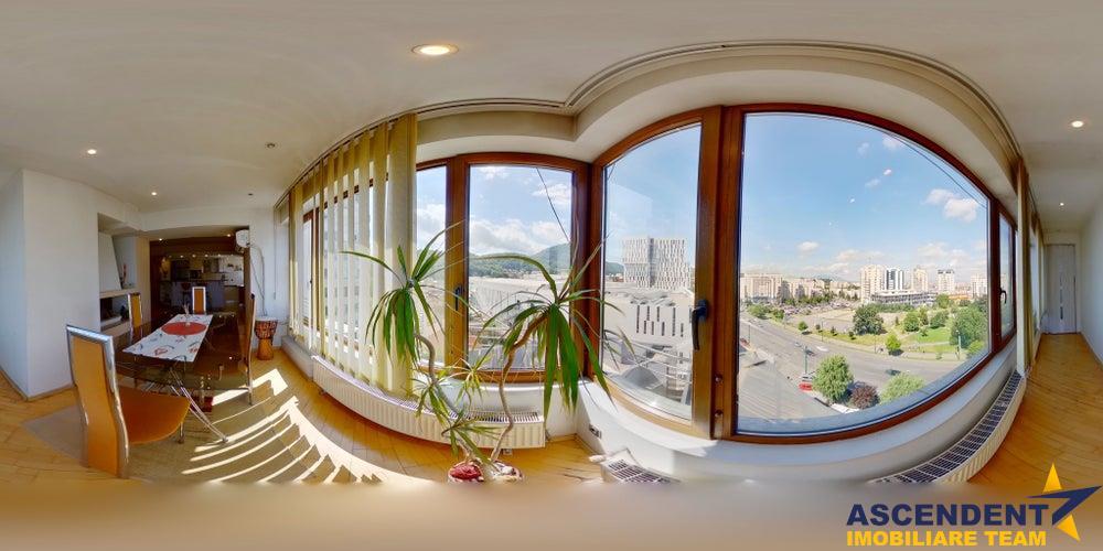 OFERTA REZERVATA!! EXPLOREAZA VIRTUAL! Proprietate luminoasa, deschidere panoramica, in a Centrului Civic cupola