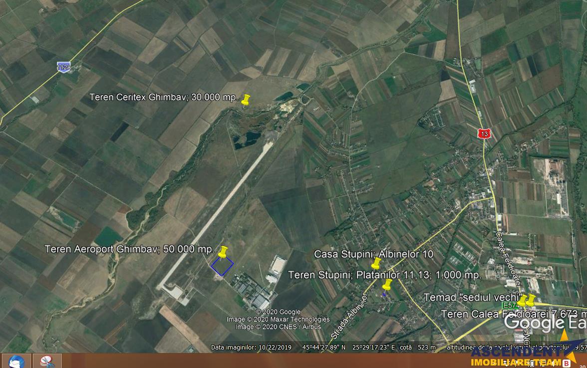 30.000 mp teren, pretabil: Hale, Depozite, Centre de colectare, Ghimbav, Brasov