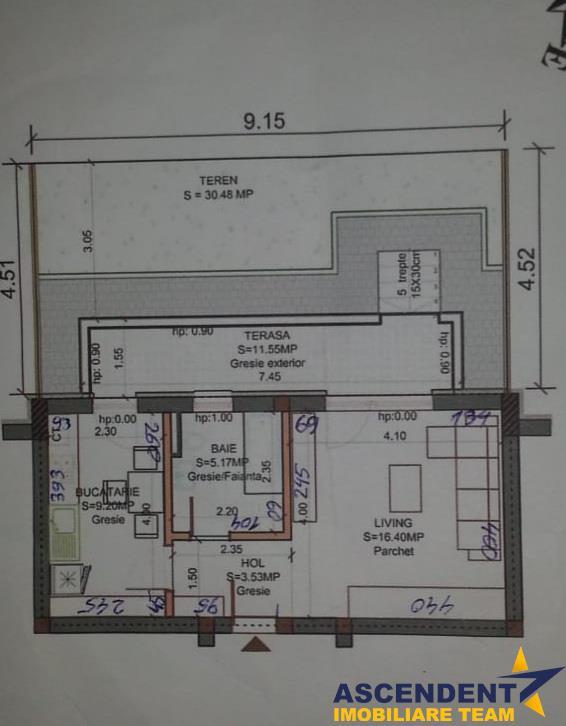 Mica ta rezidenta cu terasa si gradina proprie, primul locator