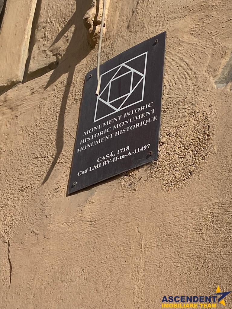 OFERTA REZERVATA!Garsoniera cocheta in Centrul Istoric al Brasovului, rezidential sau preluare subinchiriere