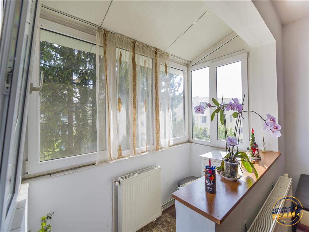 Apartament doua camere, imbratisat de spatiu verde, pozitie avantajoasa, Brasov