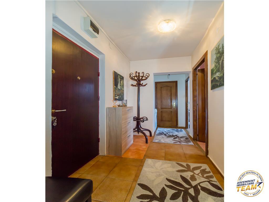 OFERTA TRANZACTIONATA!!! TUR VIRTUAL!! Apartament spatios pe 4 camere, pozitionare apreciabila, Brasov
