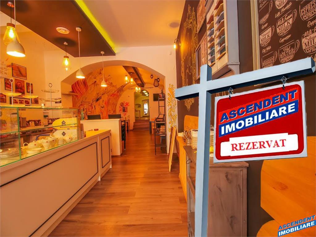 OFERTA REZERVATA!!!Spatiu Comercial/Restaurant/Bar/Cafenea/Ceainarie,zona Piata Sfatului