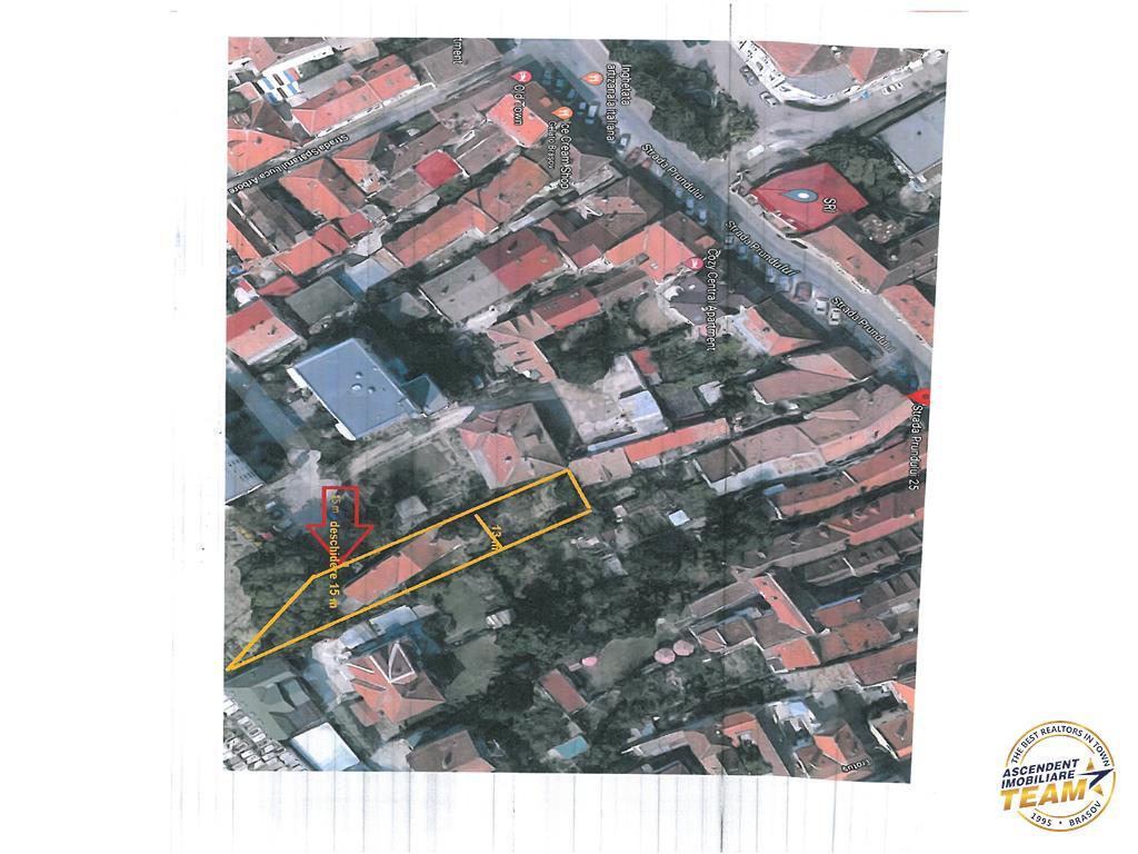 OFERTA TRANZACTIONATA!!!Teren intravilan, 800 mp si casa restaurabila, langa Poarta Schei, Brasov