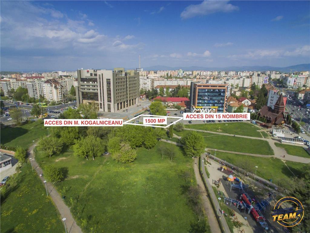 Vezi Film! Teren 1.500 mp,vis-a-vis de viitorul AFI PALACE Mall,Brasov