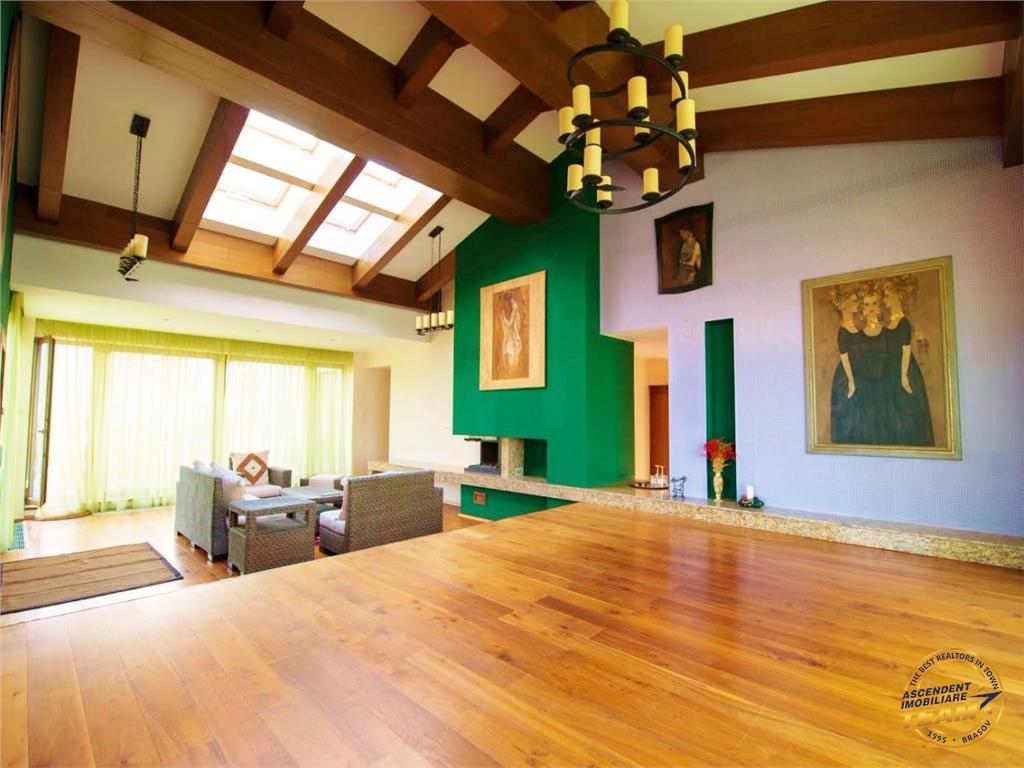 Penthouse constructie lux, cu vedere panoramica asupra Brasovului