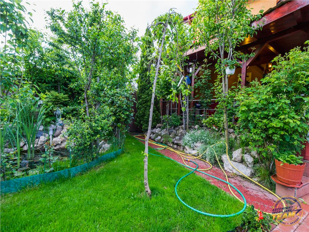 Vila distincta, armonizata cu frumusetea liniilor compozitionale, Cristian, Brasov