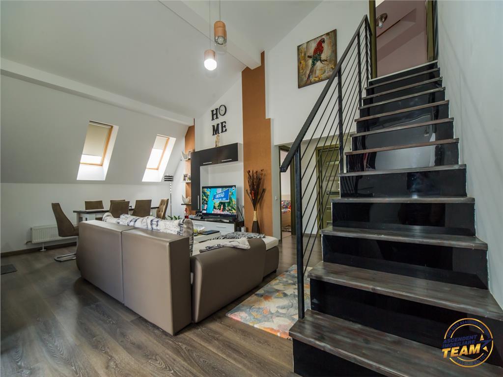 Penthouse | 96mp utili | terasa 34mp | bloc nou | concept Lux