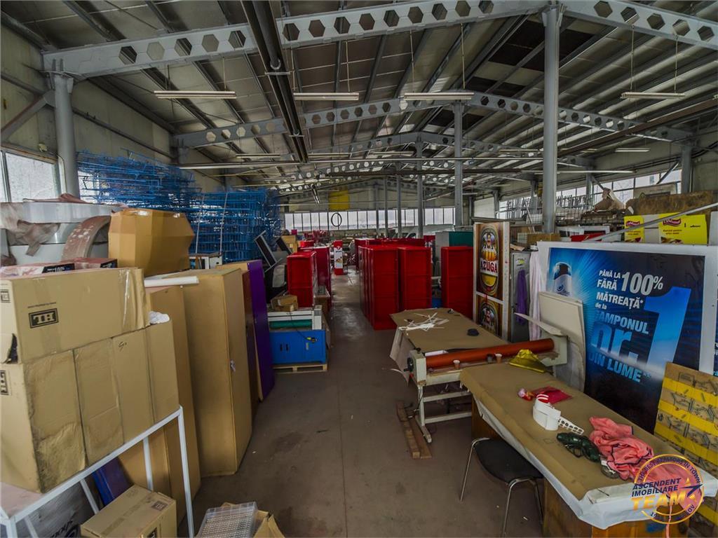 OFERTA TRANZACTIONATA!!!Spatiu de productie,compus din doua hale, pe 3.800 mp teren, Tractorul Brasov