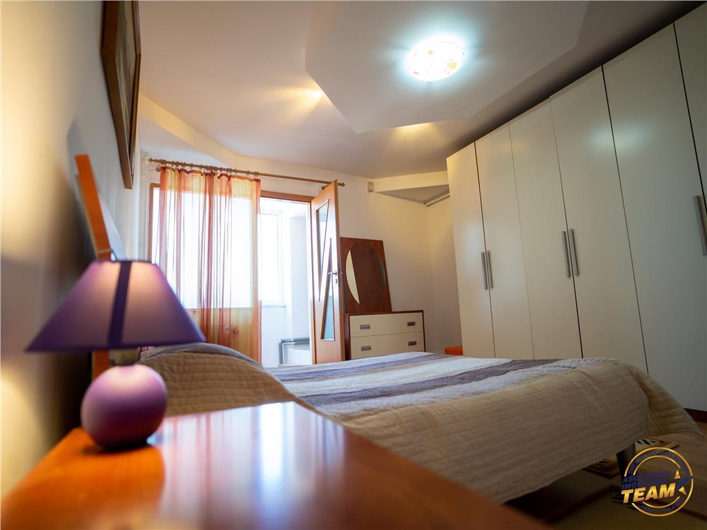Apartament spatios configurat, decomandat, mobilat si utilat, Astra, Brasov