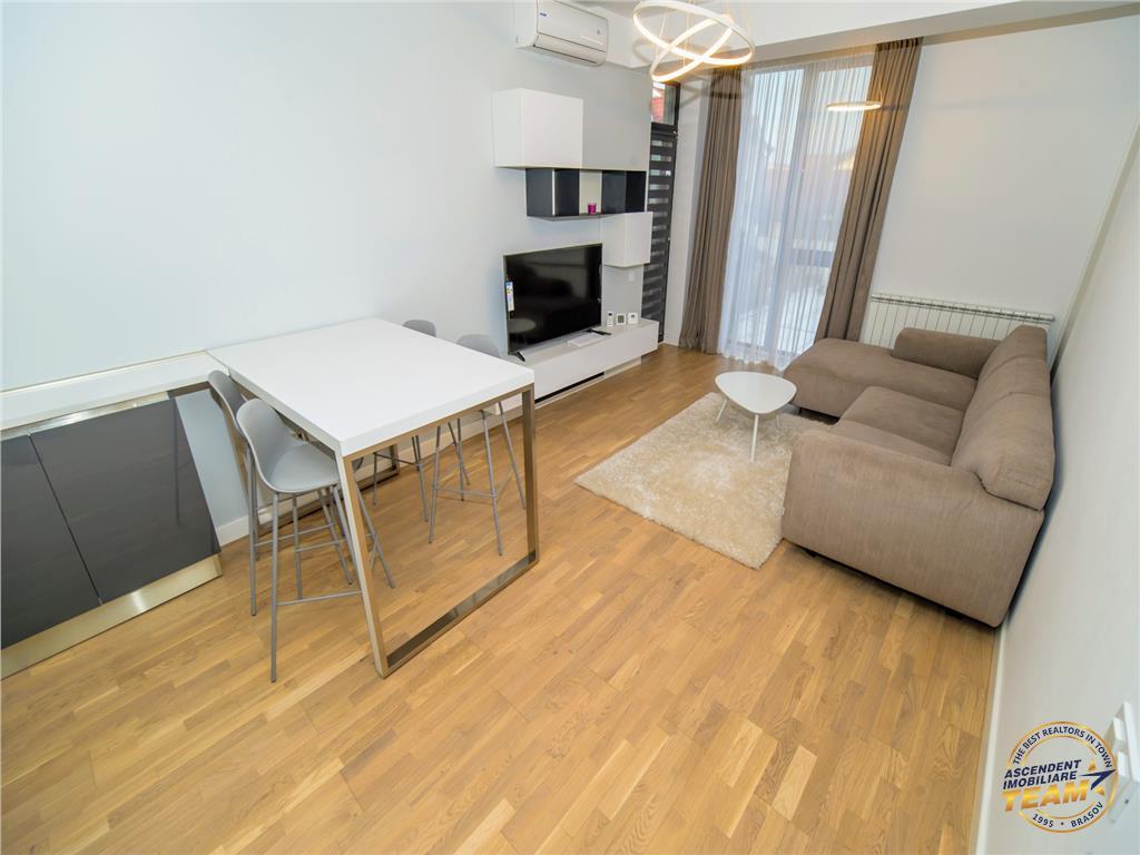 Apartament doua camere, open space, parcare subterana, zona de case