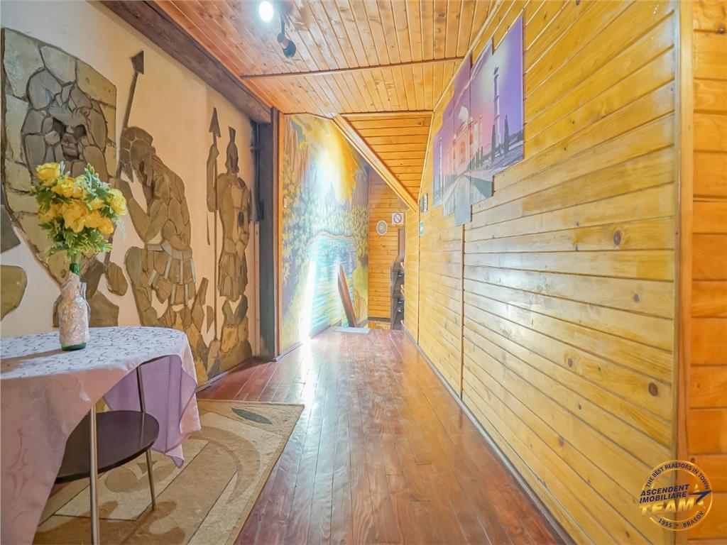 Spatiu comercial cu gradina de vara si resedinta, Centrul Istoric Brasov