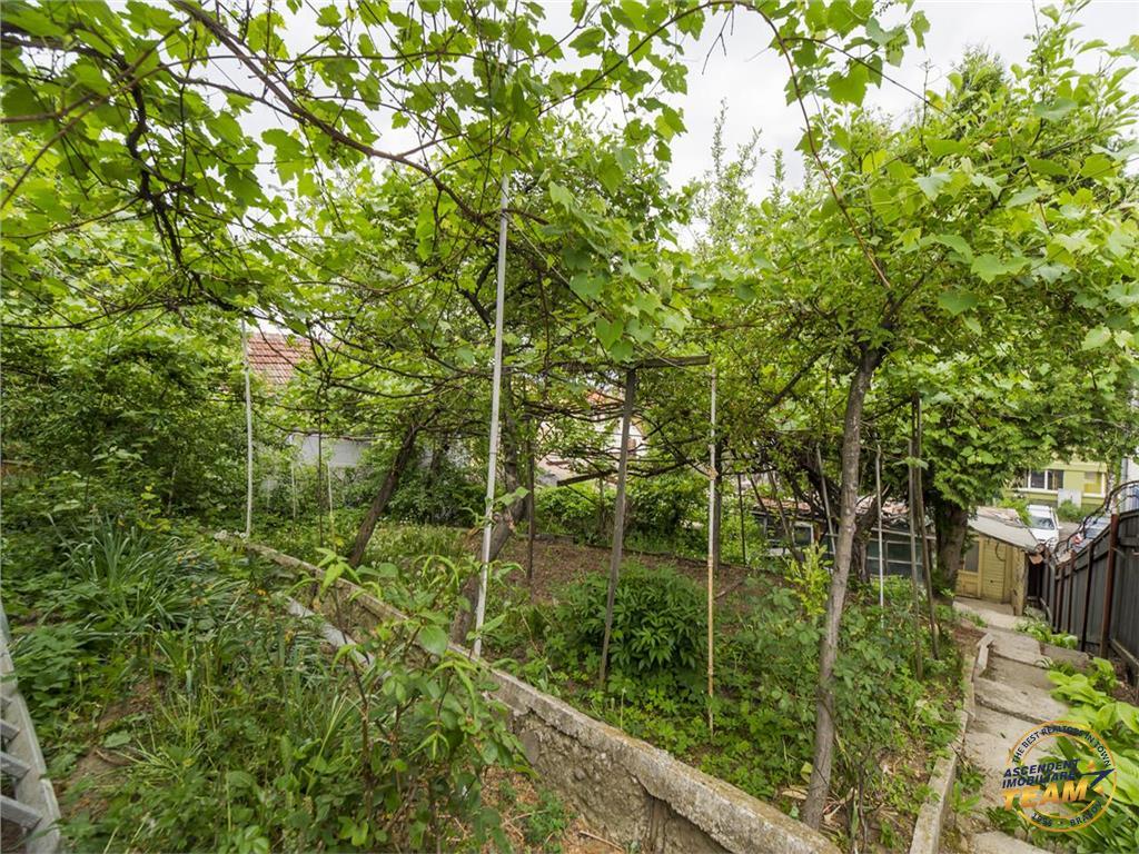 Mica constructie, pe 470 mp teren, rezidential/proiect imobiliar,Central, Brasov