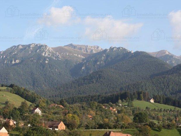 Peisaj de poveste, cu peste 1.000 mp, zona Bran