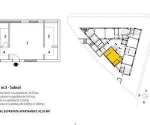 OFERTA TRANZACTIONATA !!!   Garsoniera in vila, constructie noua, Brasov, Central
