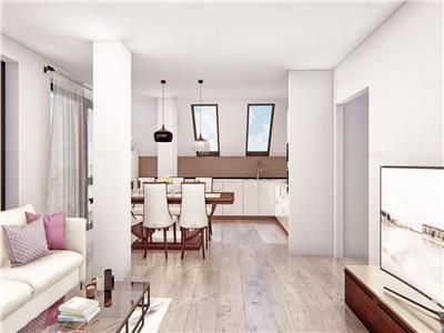 Apartament nou 4 camere in vila, 109 mp utili  incalzire in pardoseala