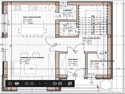 OFERTA TRANZACTIONATA!!Proiect de casa cu 4 camere pe 400mp teren, Stupini, Brașov