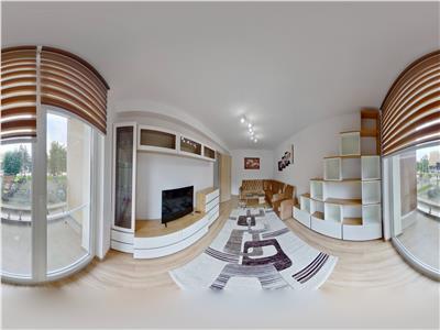 EXPLOREAZA VIRTUAL! Apartament modern, garaj subteran, prima inchiriere, Urban
