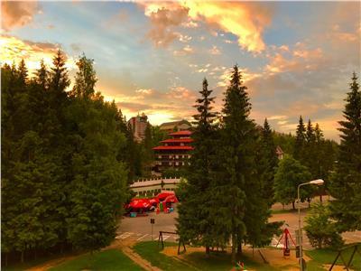 FILM! TEREN pe 5.000 mp,certificat urbanism,in inima celei mai renumite statiuni, montane, din Romania