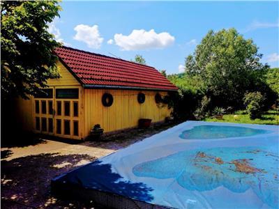 Domeniu de peste 2.000 mp teren, cu piscina, pescarie, sala de sport etc. Prahova, Campina