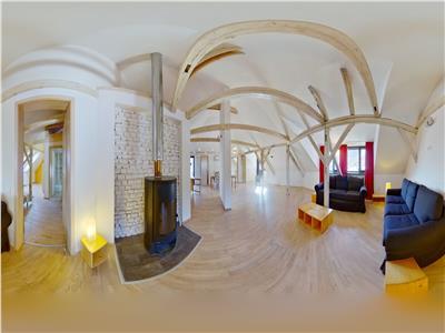 EXPLOREAZA VIRTUAL! Nivel in vila, clasa Penthouse, in incantarea muntilor, Central, Brasov