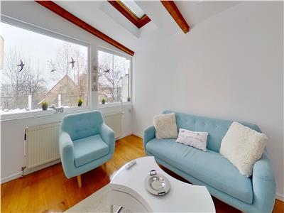 EXPLOREAZA VIRTUAL! Eleganta rezidenta, curte, gradina si garaj propriu, Central, Brasov