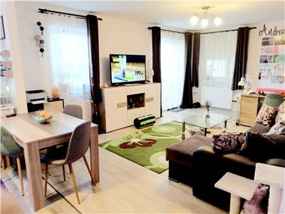 Apartament doua camere, mobilat si utilat, boc nou, zona Coresi