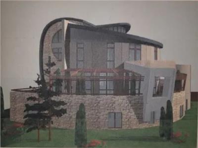Penthouse,120 mp utili, 50 mp terasa + balcoane, in vila cu arhitectura unica