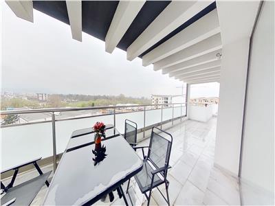 EXPLOREAZA VIRTUAL! Clasa Penthouse, pe 145 mp,  incununat de 50 mp terasa, Tractorul, Brasov